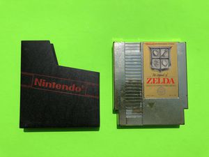 Original Nintendo NES Zelda Gold Edition for Sale in Missoula, MT