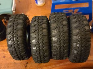 Proline Interco Trxus 1.9 crawler tires for Sale in Apple Valley, CA
