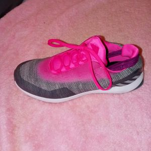 Adidas Hot Pink And Gray Very Comfortable Running Shoes for Sale in Bellmawr, NJ