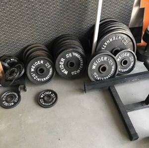 Weirder weights kilo plates for Sale in Thornton, CO