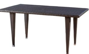 New Noble House Gloria Multi-Brown Rectangular Wicker Outdoor Dining Table ☆Pick up only ☆ for Sale in Phoenix, AZ