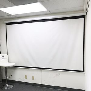 "(NEW) $75 Manual Pull Down 120"" Projector Screen 16:9 Ratio Projection Home Theater Movie for Sale in Whittier, CA"