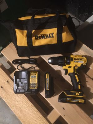 Dewalt 20-Volt Max Lithium Ion (Li-Ion) 1/2-In Cordless Brushless Drill Battery Included Soft case brand new for Sale in Fresno, CA
