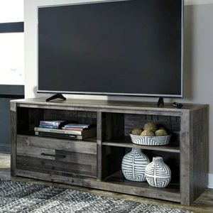 Derekson Gray Large TV Stand 🚛IN STOCK /FAST DELIVERY for Sale in Silver Spring, MD