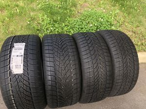 Dunlop Tires Staggered New for Sale in Manassas, VA