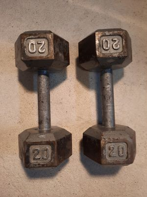 Hexhead Dumbbells for Sale in Romeoville, IL