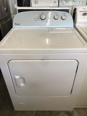 Vertex Appliances. Used, gas whirlpool dryer, white color, new model , great condition , work great for Sale in San Jose, CA