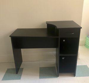 All Black Desk for Sale in Baltimore, MD