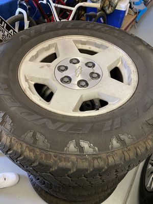 17 inch rims and tires for Sale in Queen Creek, AZ