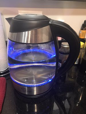 Electric Glass Tea Kettle for Sale in Arlington, VA