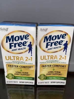 Move Free Joint Health Ultra 2 in 1(lot of 2) for Sale in Hyattsville, MD