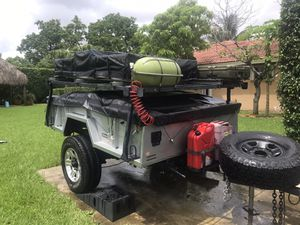 Military custom camping trailer m101-a1 for Sale in Miami, FL
