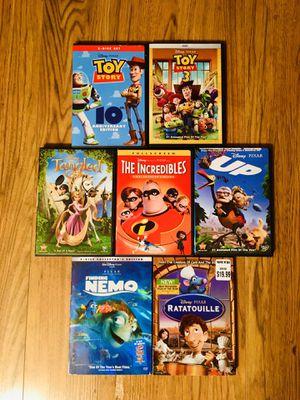 Disney Pixar DVDs for Sale in Preston Heights, IL