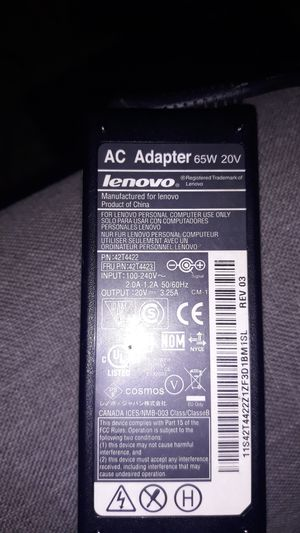 Laptop chargers(LENOVO ,ACER,and HP) for Sale in Las Vegas, NV