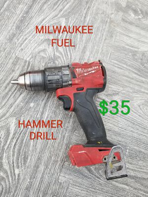 MILWAUKEE fuel m18 hammer drill only $35 for Sale in Littlerock, CA