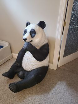 Large Resin Decorative Panda for Sale in Martinsburg,  WV