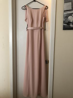 Vera Wang blush bridesmaids dress (size 4) for Sale in Washington, DC
