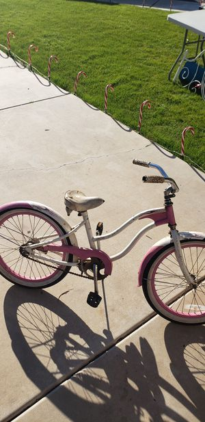 20 in Pink/White Girls Bike for Sale in Chandler, AZ