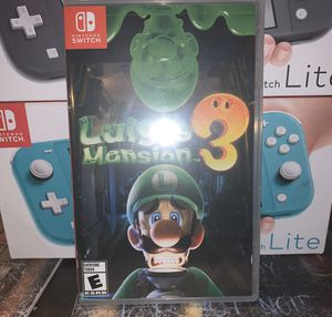 Luigi mansion 3 for Sale in Charlotte, NC