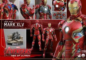 Hot Toys Iron Man Mark XLV 45 Sideshow 1/4 Premium Collectible Avengers Marvel Movie MCU for Sale in Austin, TX