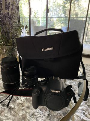 Canon Rebel TF with lenses for Sale in Castro Valley, CA