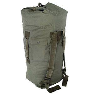 Military Nylon Canvas Duffle Bag Pack, Backpack Shoulder Strap Model for Sale in Glendale, AZ