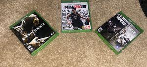 Xbox One 3-Game Bundle for Sale in Dallas, GA