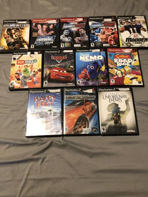 PS2 Game Lot for Sale in Orlando, FL