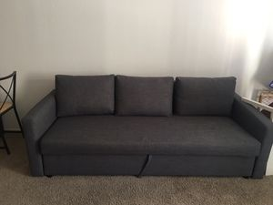 Comfy sofa bed for sale, chairs and table for sale for Sale in San Francisco, CA