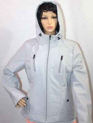 Sebby Hooded Raincoat Light Grey for Women L: NWT for Sale in Cumming, GA