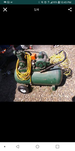 30 gallon compressor. Trade? for Sale in Waterford, CA