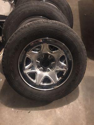 Chevy 6 lug wheels. for Sale in Springdale, AR