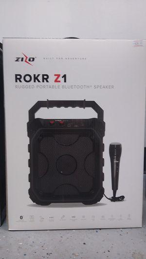 Zizo Rokr Z1 Portable Bluetooth Speaker for Sale in Decatur, IL