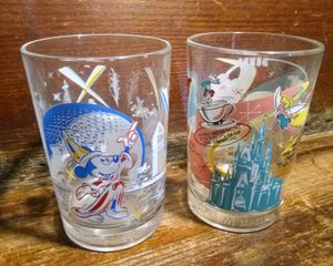 Pair of Collectible Disney Drinking Glasses for Sale in Indianapolis, IN