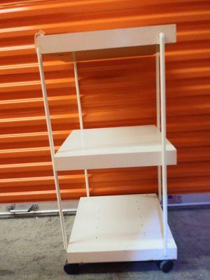 Shelf Storage organizer with wheels. 3 levels. for Sale in Falls Church, VA