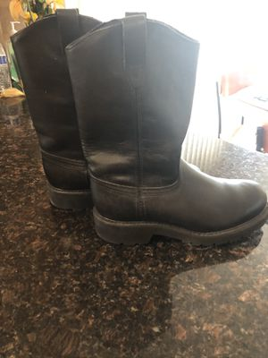 New - Steel Toe Riding / Work Boots - Black Size 8 for Sale in San Diego, CA
