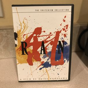 Ran criterion DVD for Sale in Los Angeles, CA