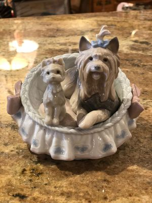 """Lladro Figurine """"OUR COZY HOME"""" Yorkshire Terrier Yorkie Dog for Sale in Phoenix, AZ"""