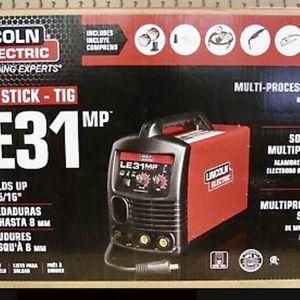 Lincoln Electric Mig Stick Tig LE 31 MP Welder for Sale in Tacoma, WA