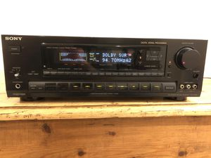 Vintage Sony STR-D1090 FM Stereo/FM-AM receiver with remote for Sale in Chantilly, VA