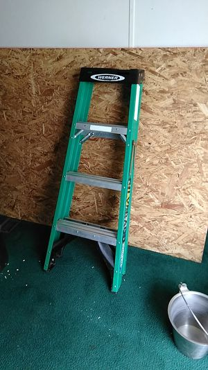 4' ladder like new for Sale in Cibolo, TX