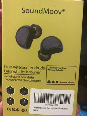 Wireless earbuds with charging box for Sale in Brooklyn, NY