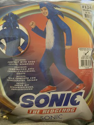 Sonic costume for Sale in New Britain, CT