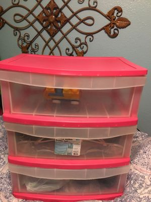 Plastic storage drawer &20 for Sale in Mesquite, TX