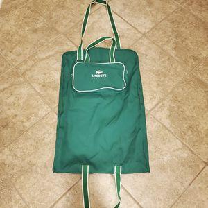 Lacoste Dress Garment Bag for Sale in Houston, TX