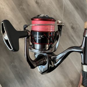 Shimano Stradic 4000 Ci4+ and Shimano Crucial Rod for Sale in Huntington Beach, CA
