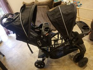 Sit N' Stand® Double Stroller , Baby Trend for Sale in Millersville, MD