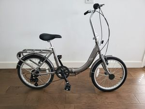 New Schwinn Loop 7 speed Folding Bike (Grey/ Silver) for Sale in Covina, CA