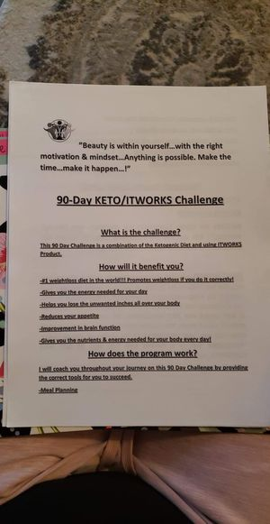 90 day Keto challenge!!! Ask Me how!!! for Sale in Riverside, CA