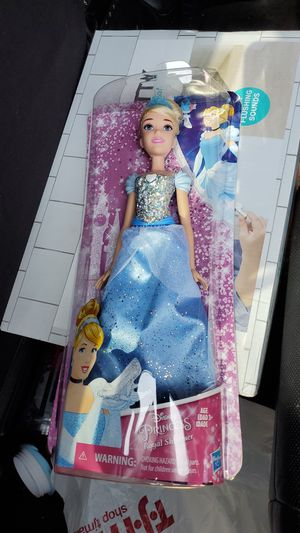 Brand new still in the original packaging (Cinderella and Rapunzel) for Sale in Spring, TX